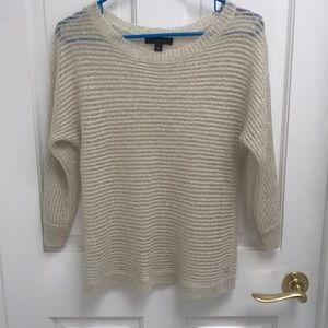 Off white pullover sweater - Ann Taylor sweater